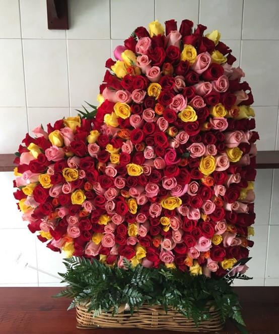 88ed9f7672beb Arreglos florales para cumpleaños - Yaakun Flores
