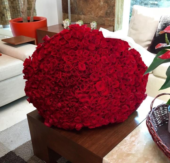 maxi ramo amor mo de 600 rosas - Imagenes De Ramos De Rosas