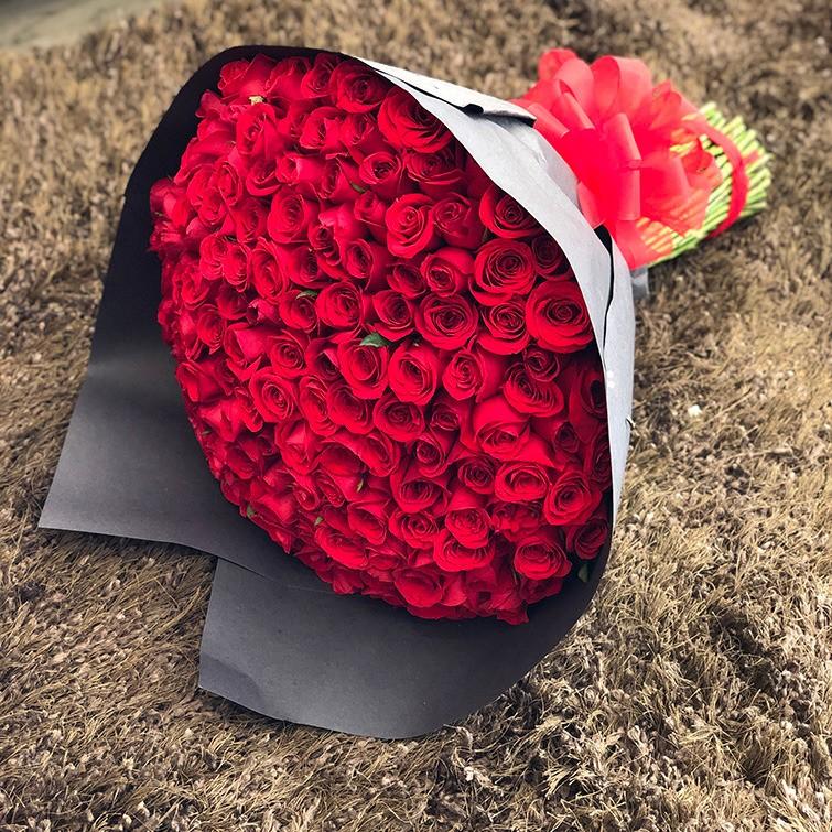 Ramo de 150 rosas amor mío