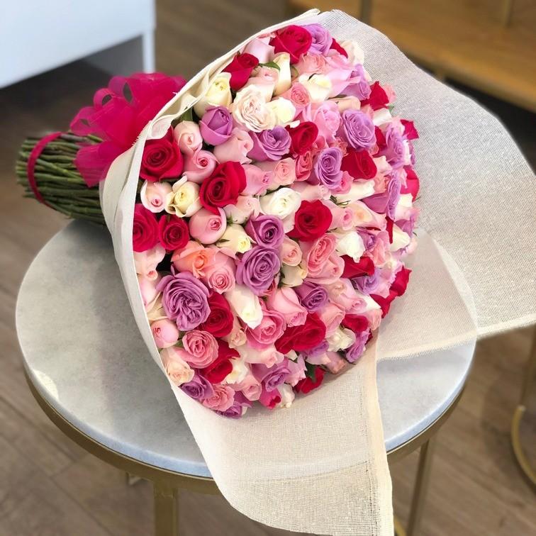 Ramo de 150 rosas te quiero mucho