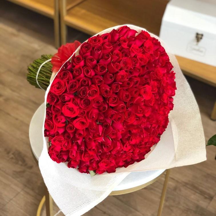Ramo de 200 rosas rojas amor mio