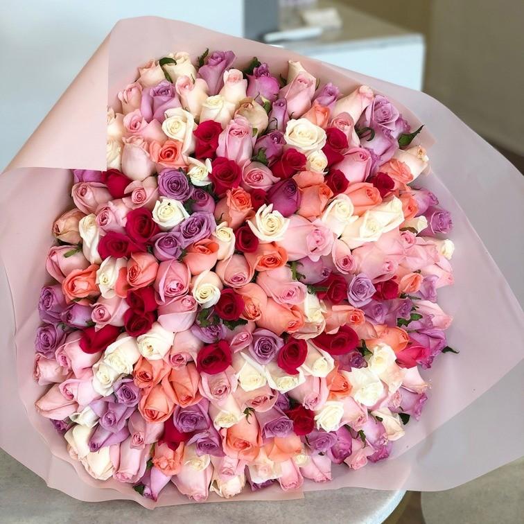 Ramo de 200 rosas te quiero mucho