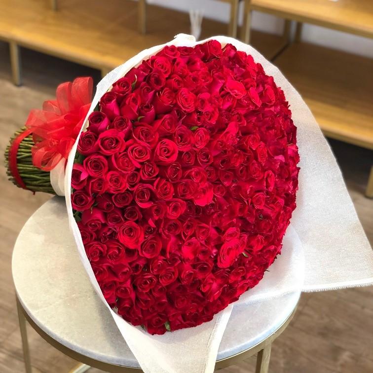 Ramo de 250 rosas amor mío