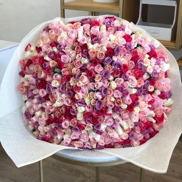 Ramo de 365 rosas te quiero mucho