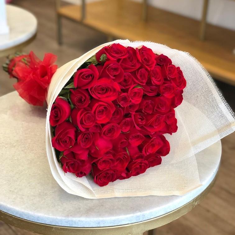 Ramo de 50 rosas amor mío