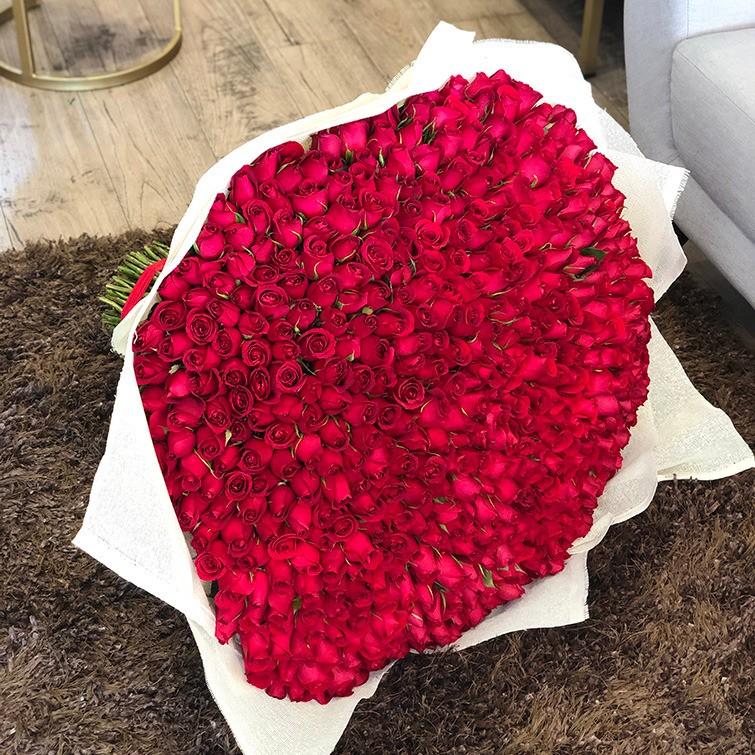 Ramo de 500 rosas amor mío